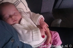 Mijnlevenalsmama | Olivia 3 weken